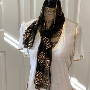 Accessories - Hand Beaded Scarf
